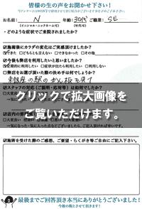 Nさま(30代/女性/SE)