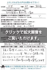 久米さま(47歳/女性/会社員)
