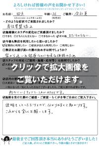 四方さま(36歳/女性/会社員)