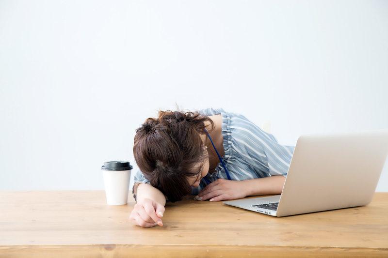 猫背|30代 女性「仕事中(デスクワーク)、呼吸が浅くなっているように感じる。」